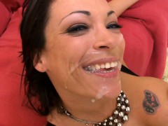 Slippery and wet oral pleasure