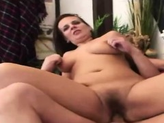 hairy-brunette-gets-her-pussy-racked