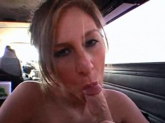 Sensual Blonde Licks And Sucks Hard Cock