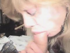 older-blonde-crack-whore-sucking-dick-for-cash-pov