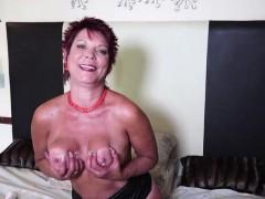 kinky-redhead-mature-masturbates