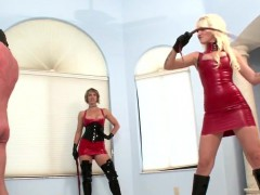 Dominatrix Gets In Rush