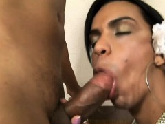 Shemale Enjoys Each Moment Of Hardcore Sex With Her Paramour