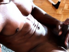 solo-ebony-stud-jering-his-cock
