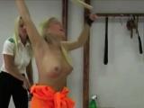 Medieval Maid'S Punishing