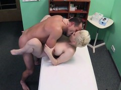 sexy tattooed patient licked and nailed