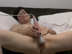 horny milf masturbating fleshy twat to multiple orgasms