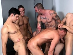 construction-hunks-cumshot-in-group