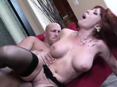 redhead-mom-brittany-o-connell-pierced-pussy