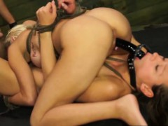 Magnificent Stunners Bibi And Callie Share Restrain bondage Expirience