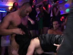 naughty babes get fucked in the club