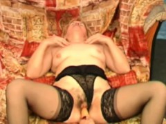 hairy-granny-gets-her-pussy-satisfied