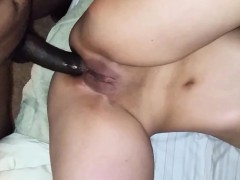 Hotwife Acquiring For Shooting Husband Bbc Rectal