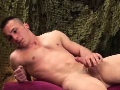 young and muscular alex novak jacks off – Gay Porn Video