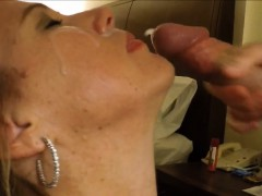 Big load of cum in 30 seconds
