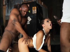 adriana chechik penetrated mercilessly by three massive black cocks