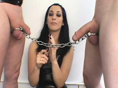 she-ties-a-chain-to-both-pricks-and-they-have-a-weird-tug-o