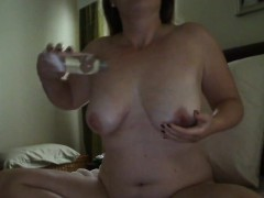 chubby-mom-sabina-with-hitachi-and-huge-dildo