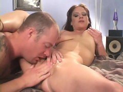 big titted brunette milf trades oral and gets her fuck hole penetrated