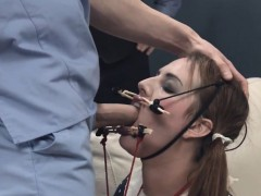 hungry bdsm backdoor action in gangbang