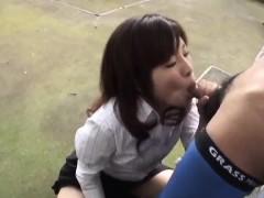 outdoor penis sucking experience for kana shimada