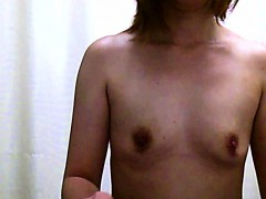 Cute Little Asian Gal With Tiny Tits Is Getting Dressed Cau