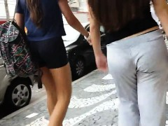three-hot-young-chicks-jiggle-their-butts-while-walking-dow