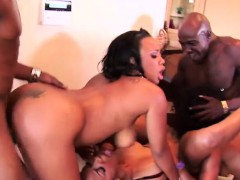 Big Ass Black Chicks Enjoying A Full On Orgy