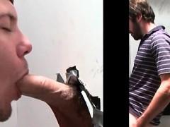 Beardy Straight Guy Enjoys Gay Bj On Gloryhole