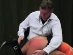 naughty schoolgirl gets spanked hard – Porn Video
