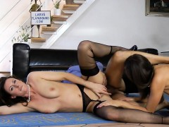 british milf shares dick with gorgeous babe