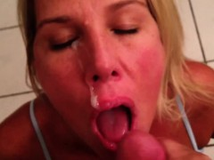 Wifey Loves The Taste Of Cum Francie From 1fuckdatecom