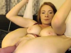 big-tits-redhead-milf-camgirl-dildoing-on-webcam