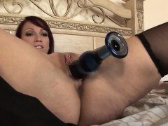 clitpierced-milf-dildo-fucks-herself-silly