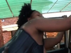 Hot African Ebony Teen Fucked Big Black Cock
