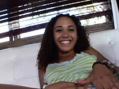 Mimi Allen Is A Cute Latin Teen Who Is Wearing A Shirt With