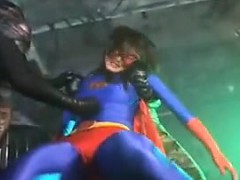 super-heroine-is-caught-and-gets-tied-up-and-her-boobs-sque