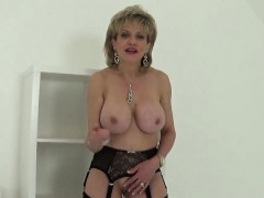 unfaithful british milf lady sonia displays her monster knocker