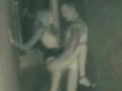 Teen Couple Spycam Voyeur Outside Leonida