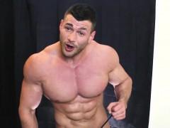 muscle-worship-cum-shot