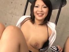 reina mizuki finger penetrated and made to suck a huge dick