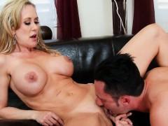 A Lesson From Sexy Big Tits Blonde Brandi Love