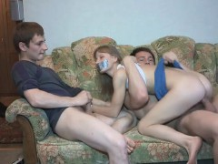 skinny-teen-surprise-fuck-and-double-cum-by-her-bf-and-buddy