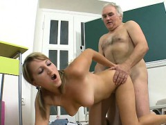 old-teacher-is-lovely-babe-s-chaste-pussy