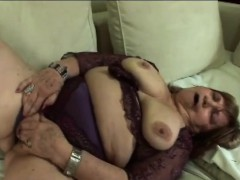 mature bitch with hairy vagina gets fucked by young guy