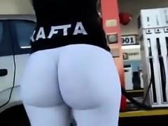 Bigass At Gasstation