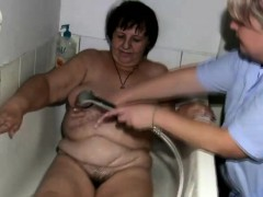 fat-granny-gets-treated-by-the-nurse
