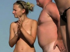 Spying On Naked Teenagers On The Nude Beach