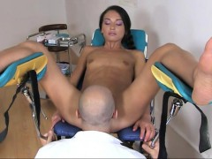 Tiny Tits Teen Examined Her Ass And Twat By Nasty Doctor