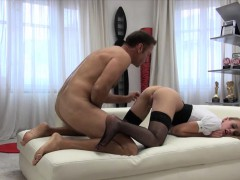Tight Slut Linda Leclair Gets Her Ass Pounded By Horny Rocco